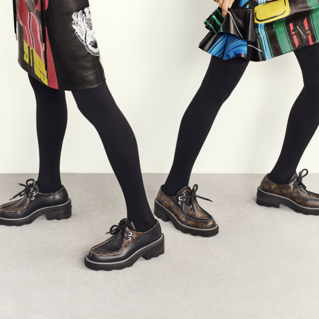 LOUIS VUITTON FALL/WINTER 2019 SHOE COLLECTION