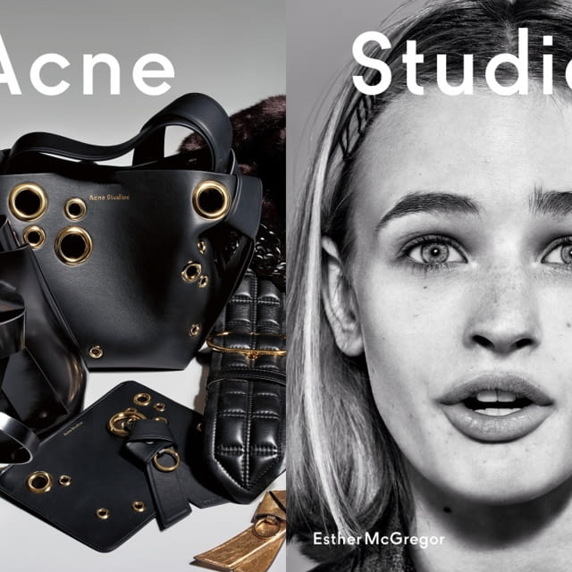 Acne Studios presents Fall/Winter 2019 campaign with new generation faces