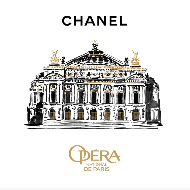 CHANEL - PATRON OF THE GALA OPENING FOR THE 2019/2020 DANCE SEASON OF THE OPÉRA NATIONAL DE PARIS