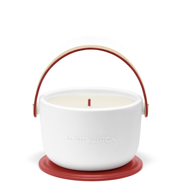 Louis Vuitton and (RED) present the Louis Vuitton I (RED) candle  in support of the fight to end AIDS