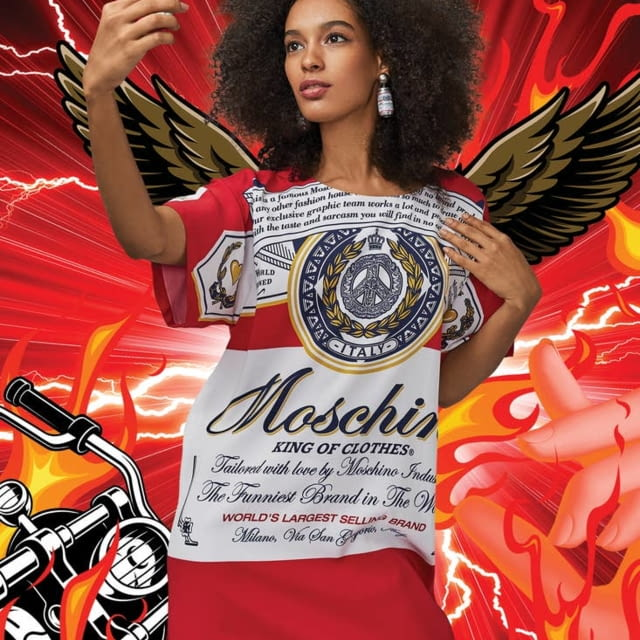 Moschino x Budweiser Capsule Collection