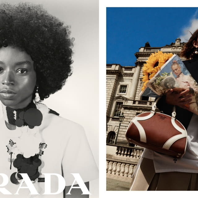 Prada RESORT 20 advertising campaign