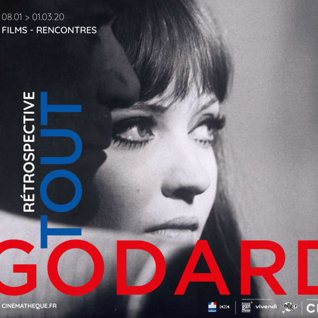 """TOUT GODARD"" AT THE CINÉMATHÈQUE FRANÇAISE  FROM JANUARY 8th TO MARCH 1st 2020"