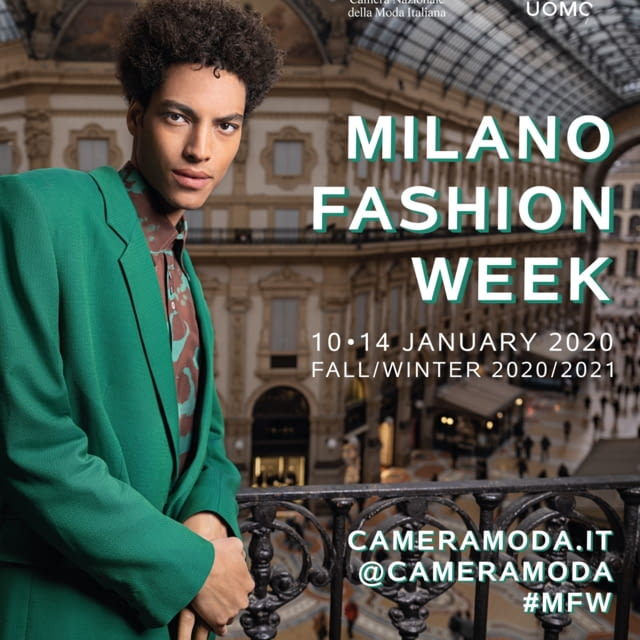 CAMERA NAZIONALE DELLA MODA ITALIANA | MILANO MODA UOMO | 10-14 JANUARY 2020 | FALL/WINTER 2020/2021
