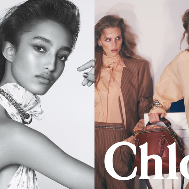 CHLOÉ SS20 CAMPAIGN - HANDLE WITH GRACE