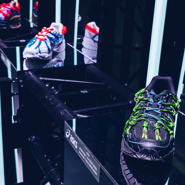 rokh x ASICS collaboration and launch event