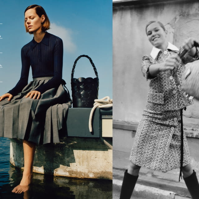 PRADA WOMENSWEAR SPRING/SUMMER 2020 ADVERTISING CAMPAIGN  PLAIN REDEFINED AS DARING ATTITUDE