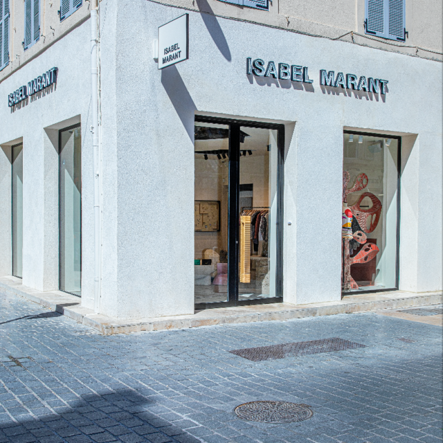 Isabel Marant opens the doors to her eponymous store in Marseille