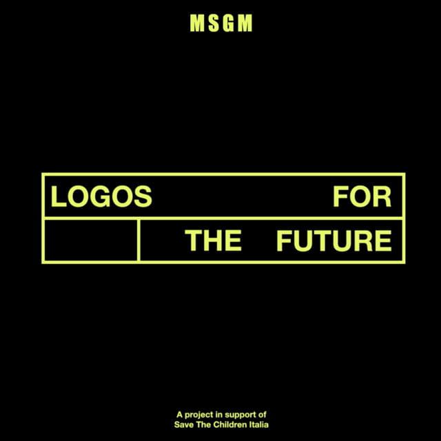MSGM: LOGOS FOR THE FUTURE