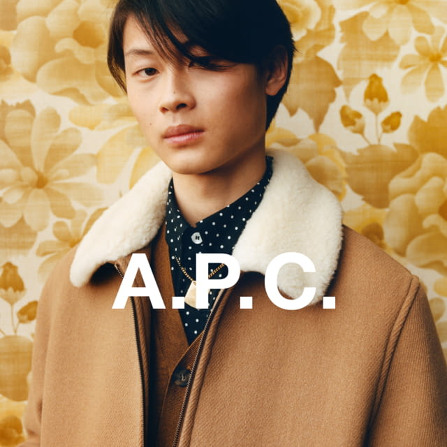 A.P.C. FALL/WINTER 2020 CAMPAIGN PHOTOGRAPHER: JULIE GRÈVE