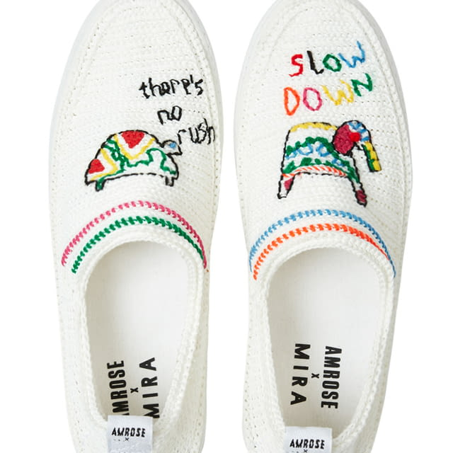Amrose x Mira Mikati / Slow Down, there is no rush