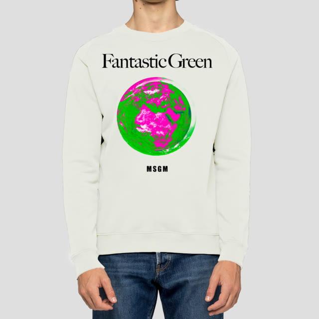 MSGM FANTASTIC GREEN
