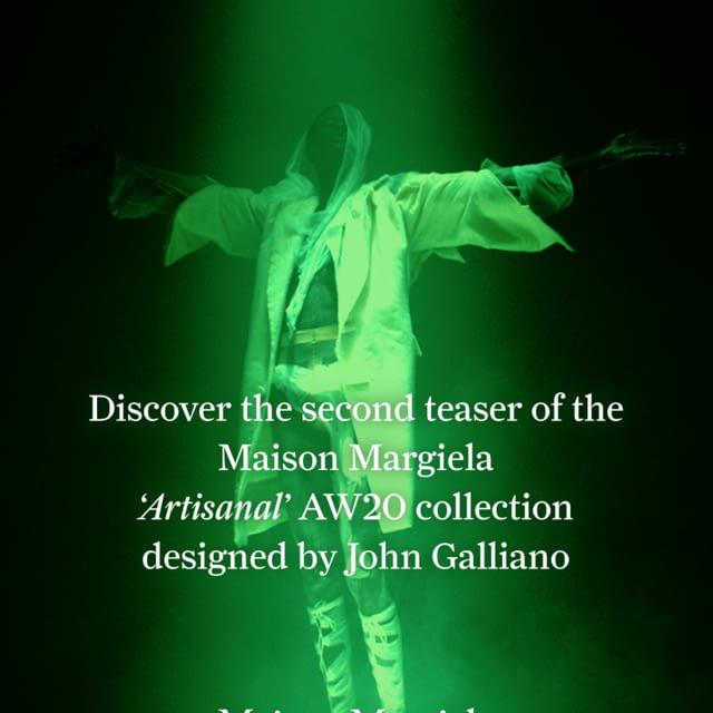 Maison Margiela 'Artisanal' Co-Ed Collection Autumn-Winter 2020   Instalment 2