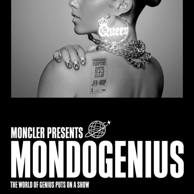 MONCLER PRESENTS MONDOGENIUS A World of Genius Puts on a Show