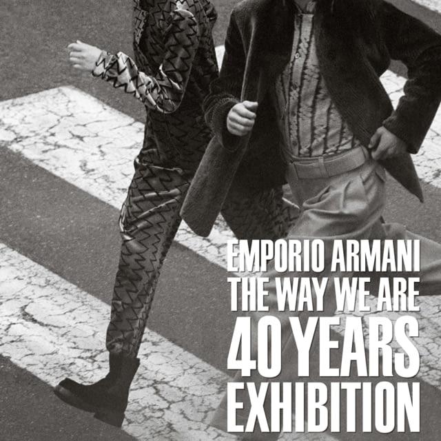 EMPORIO ARMANI 40TH ANNIVERSARY