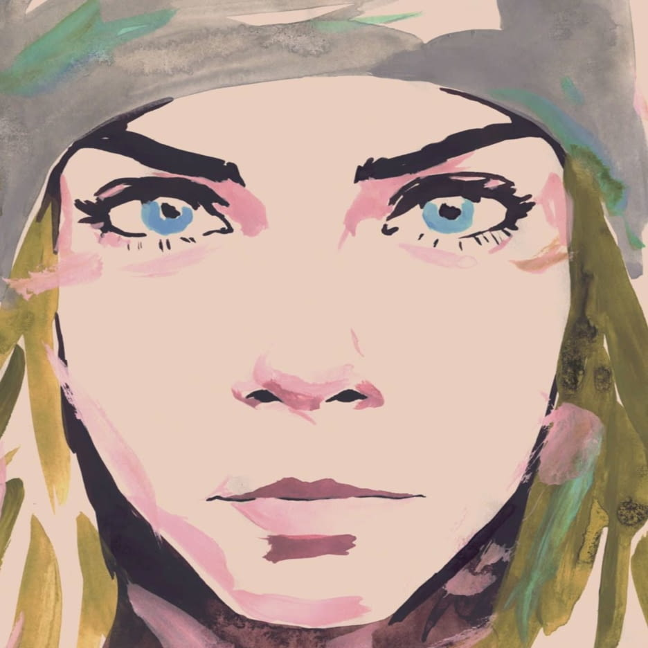 CARA DELEVINGNE illustration 1