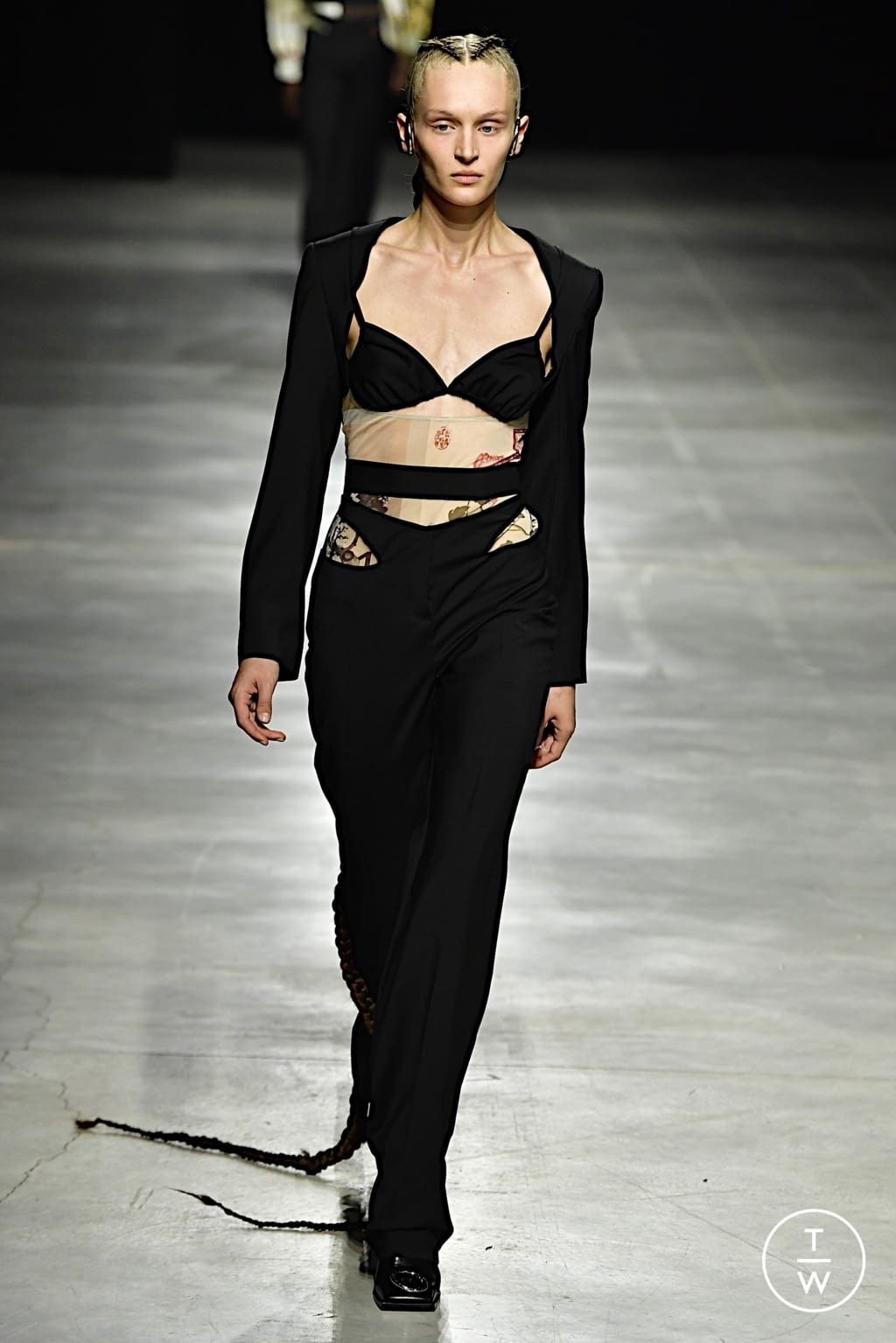 Fashion Week Milan Spring/Summer 2022 look 18 from the Act n°1 collection womenswear