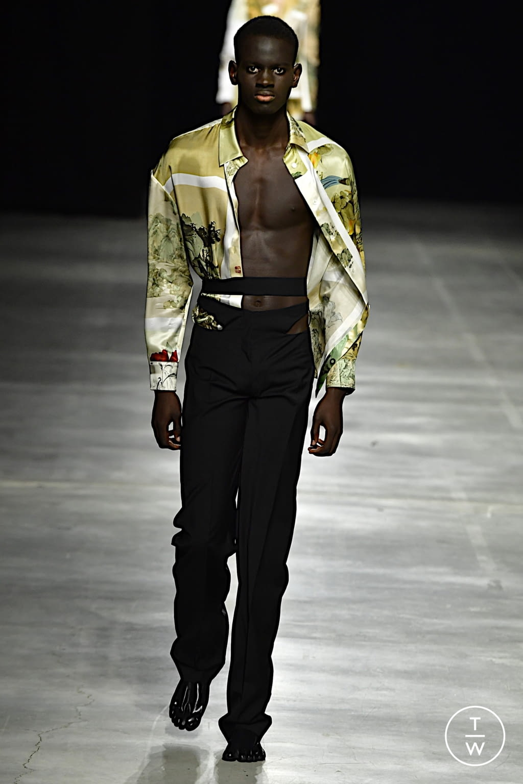 Fashion Week Milan Spring/Summer 2022 look 19 from the Act n°1 collection womenswear