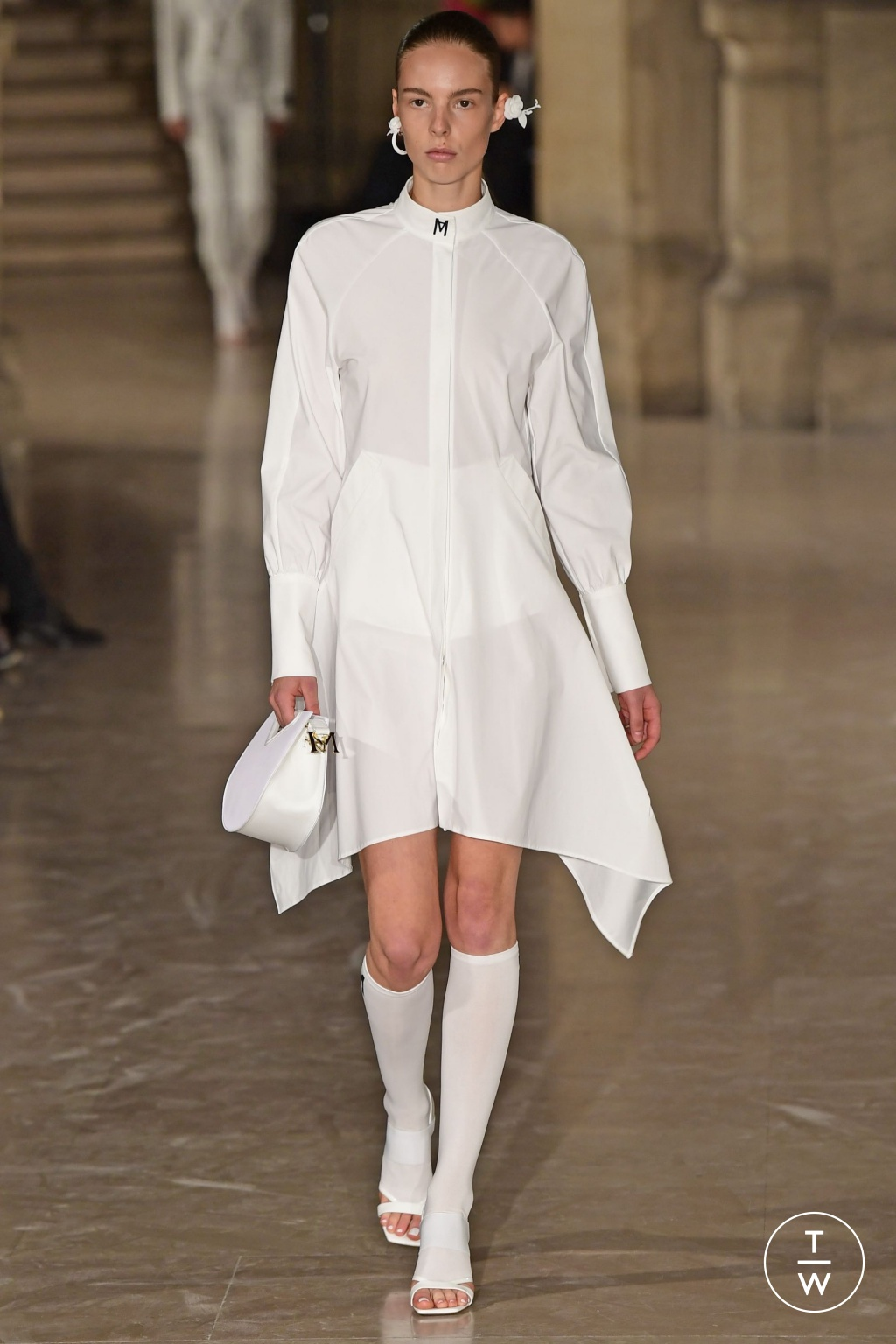 Fashion Week Paris Spring/Summer 2019 look 1 from the Masha Ma collection womenswear