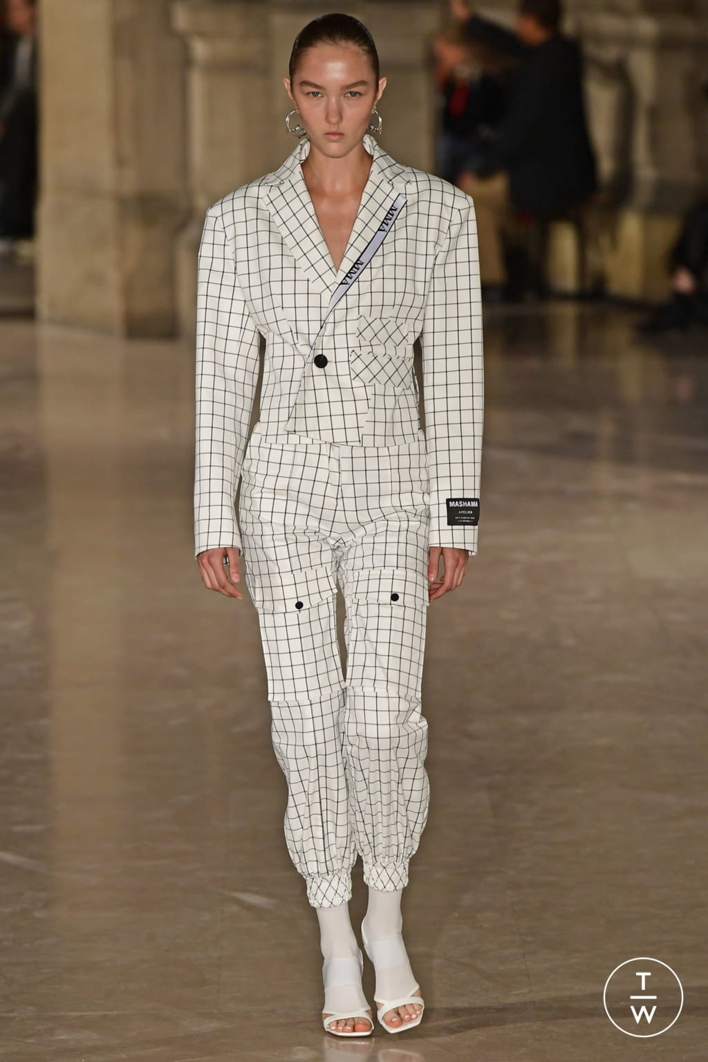 Fashion Week Paris Spring/Summer 2019 look 2 de la collection Masha Ma womenswear