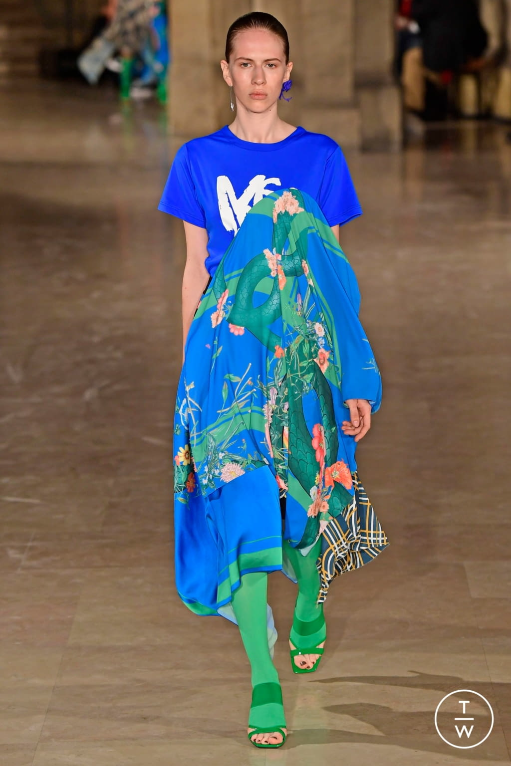 Fashion Week Paris Spring/Summer 2019 look 7 from the Masha Ma collection womenswear