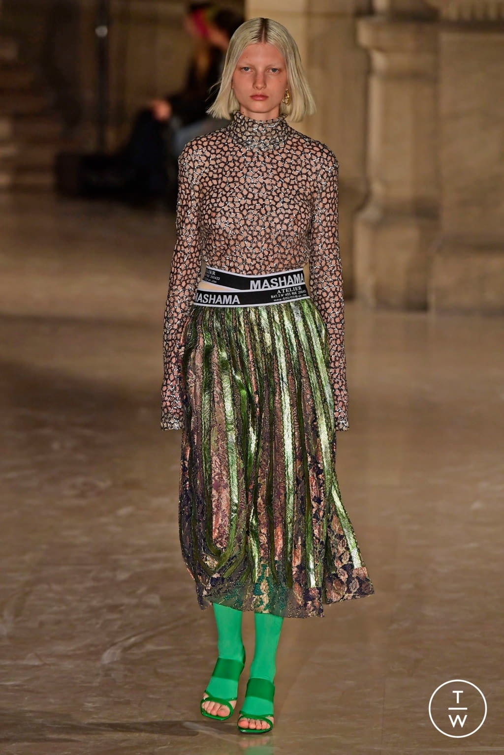 Fashion Week Paris Spring/Summer 2019 look 14 from the Masha Ma collection womenswear