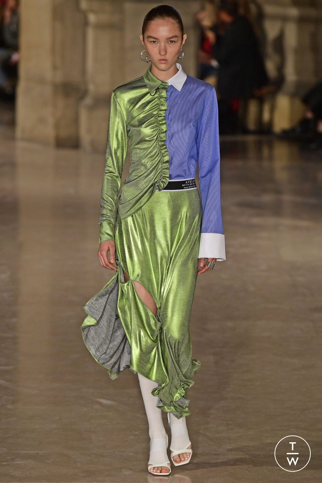 Fashion Week Paris Spring/Summer 2019 look 28 de la collection Masha Ma womenswear