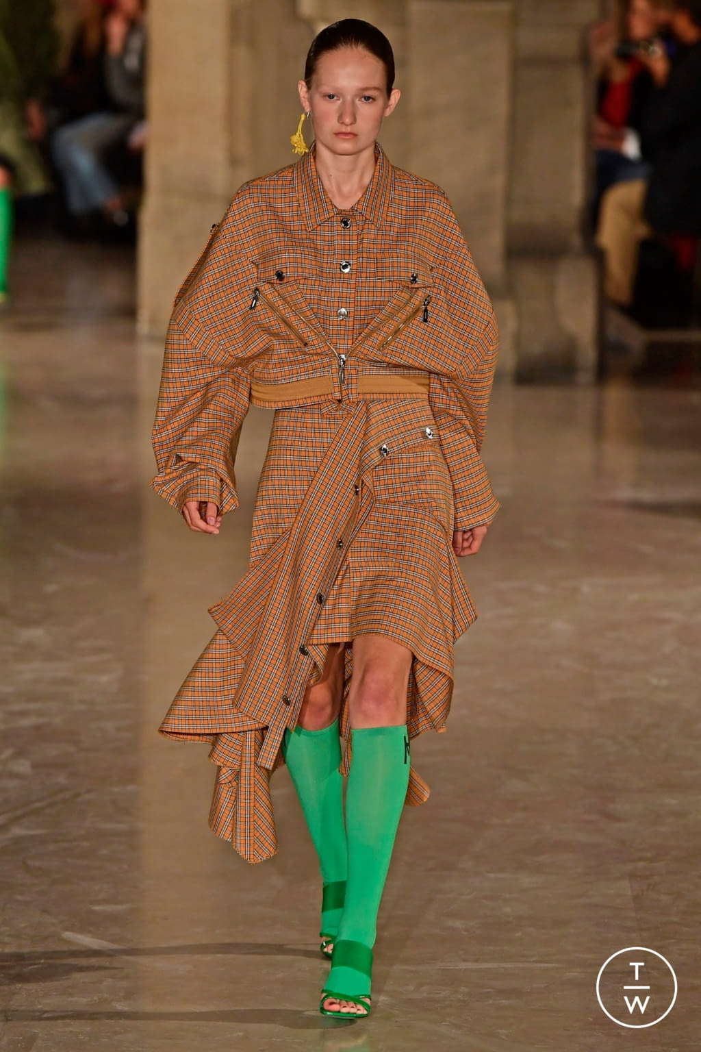 Fashion Week Paris Spring/Summer 2019 look 30 de la collection Masha Ma womenswear