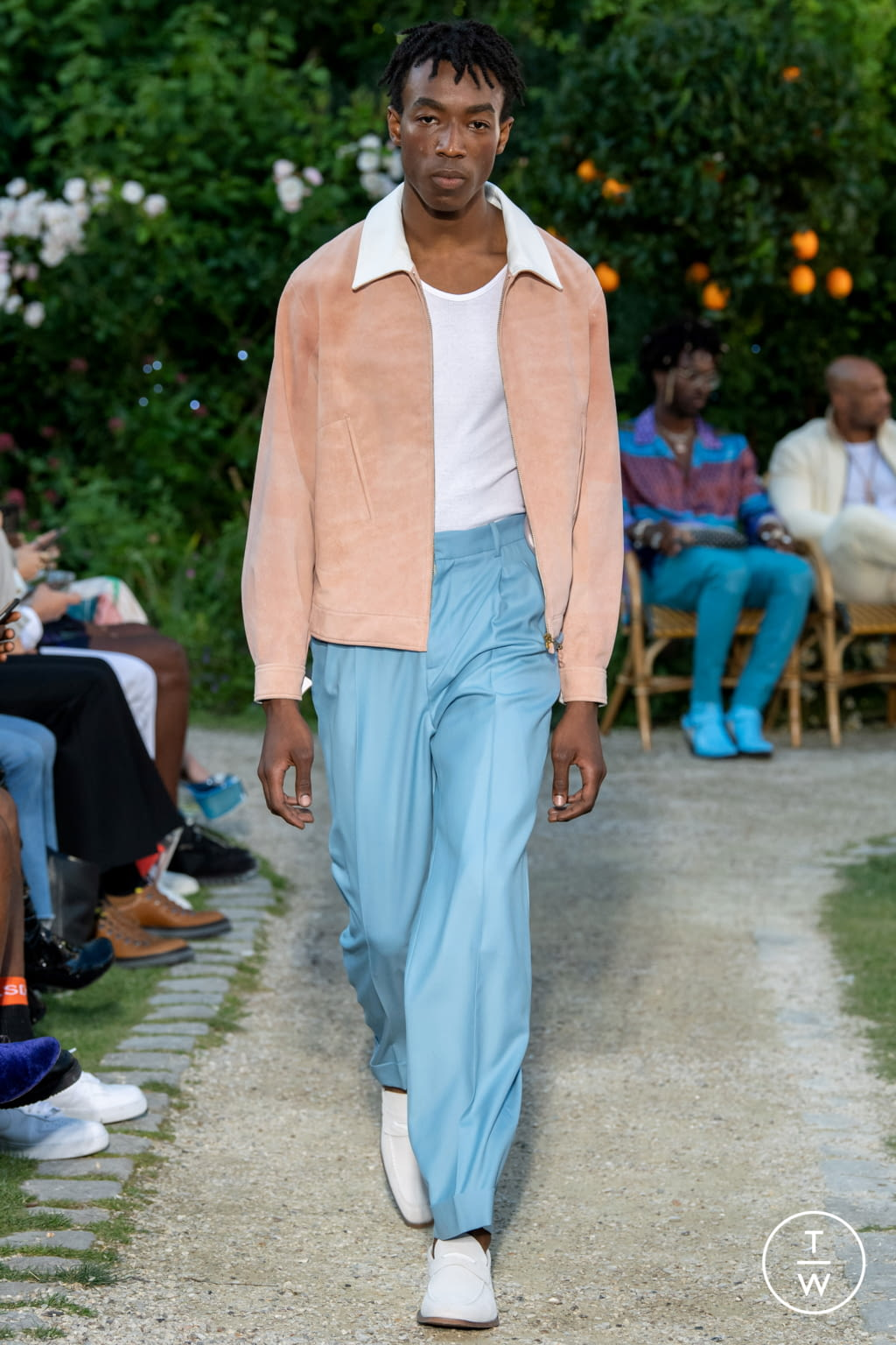 Fashion Week Paris Spring/Summer 2020 look 7 from the Casablanca collection menswear