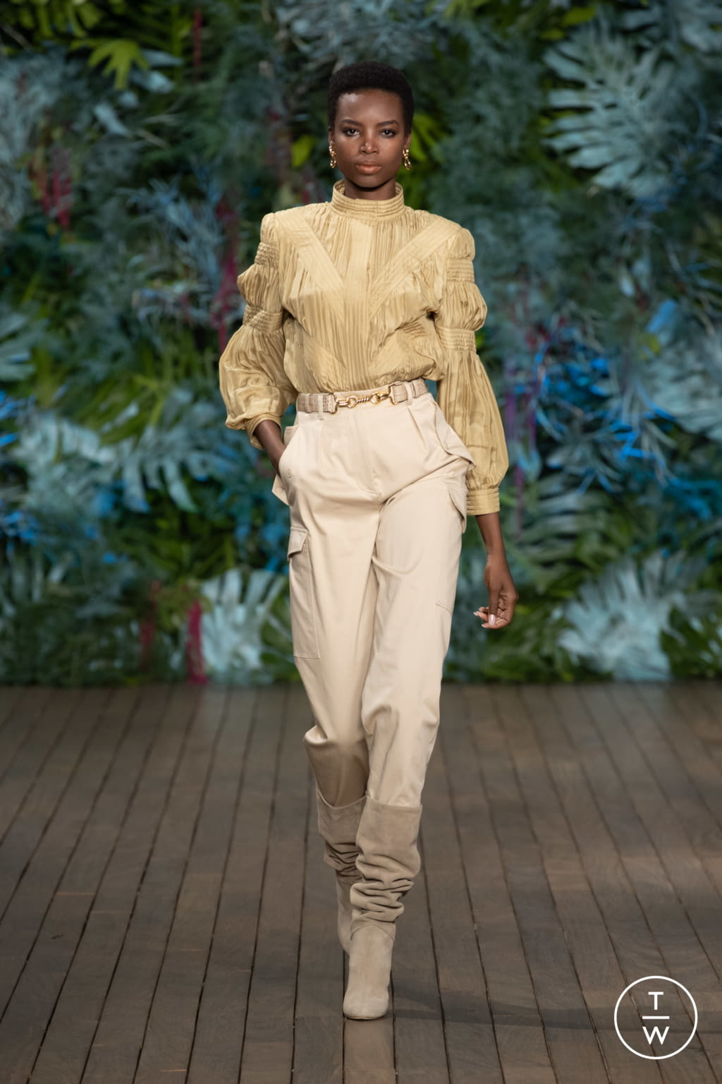 Fashion Week Milan Resort 2020 look 3 from the Alberta Ferretti collection 女装