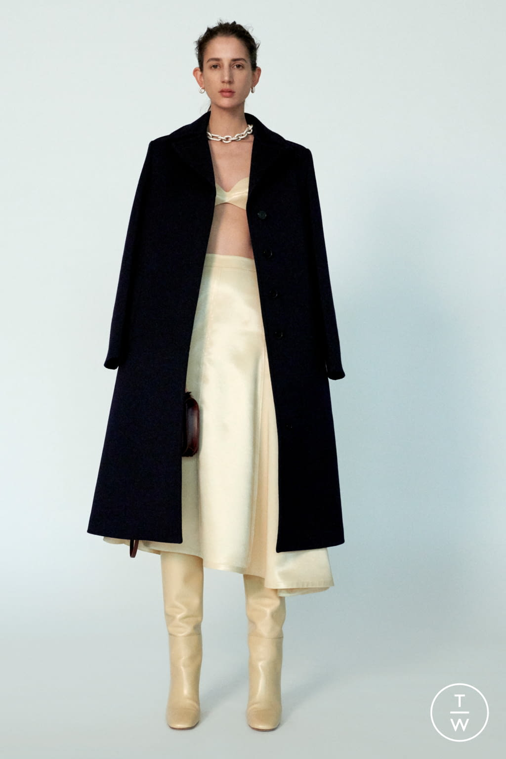 Fashion Week Milan Pre-Fall 2020 look 5 from the Jil Sander collection 女装