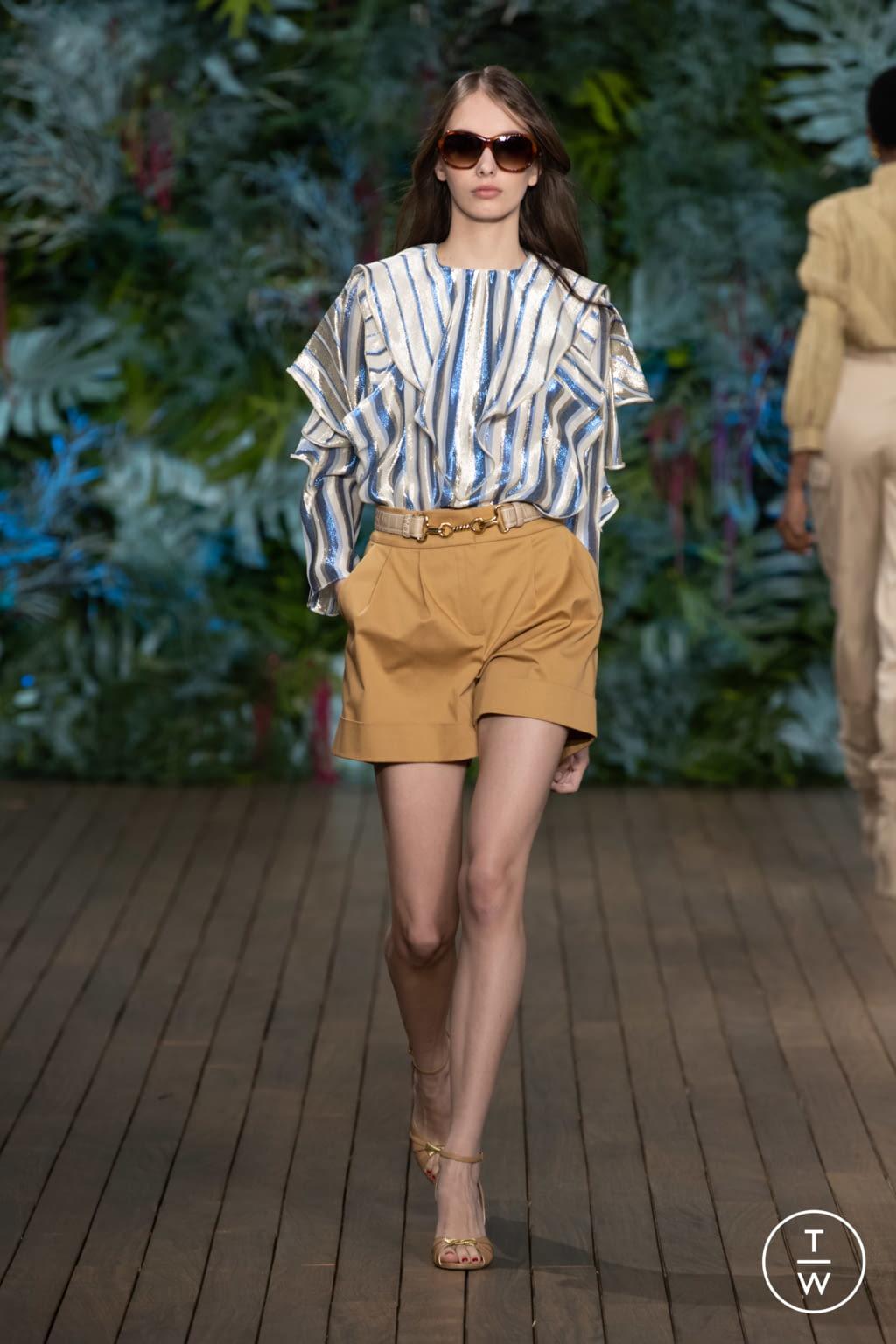 Fashion Week Milan Resort 2020 look 5 from the Alberta Ferretti collection womenswear