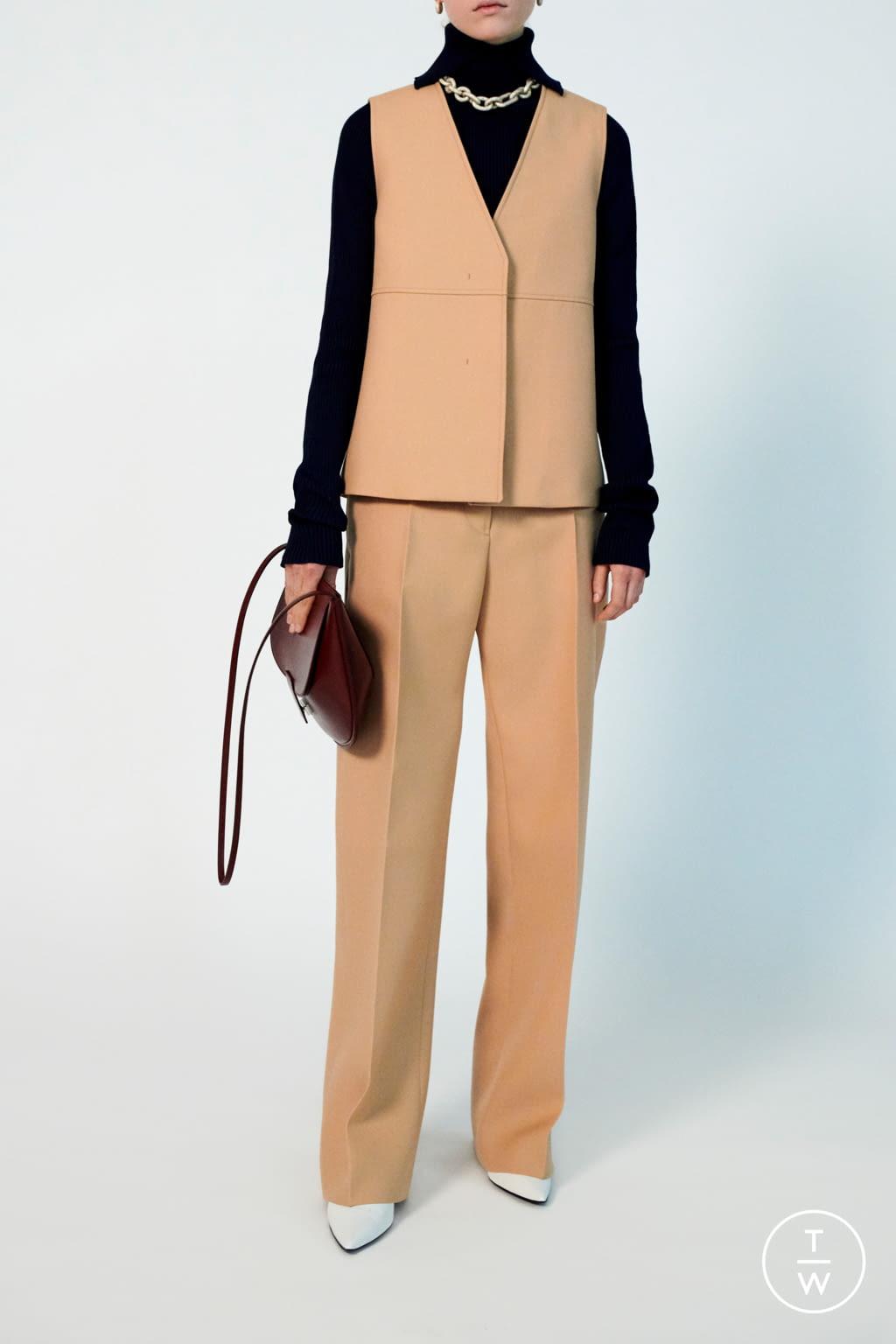 Fashion Week Milan Pre-Fall 2020 look 6 de la collection Jil Sander womenswear