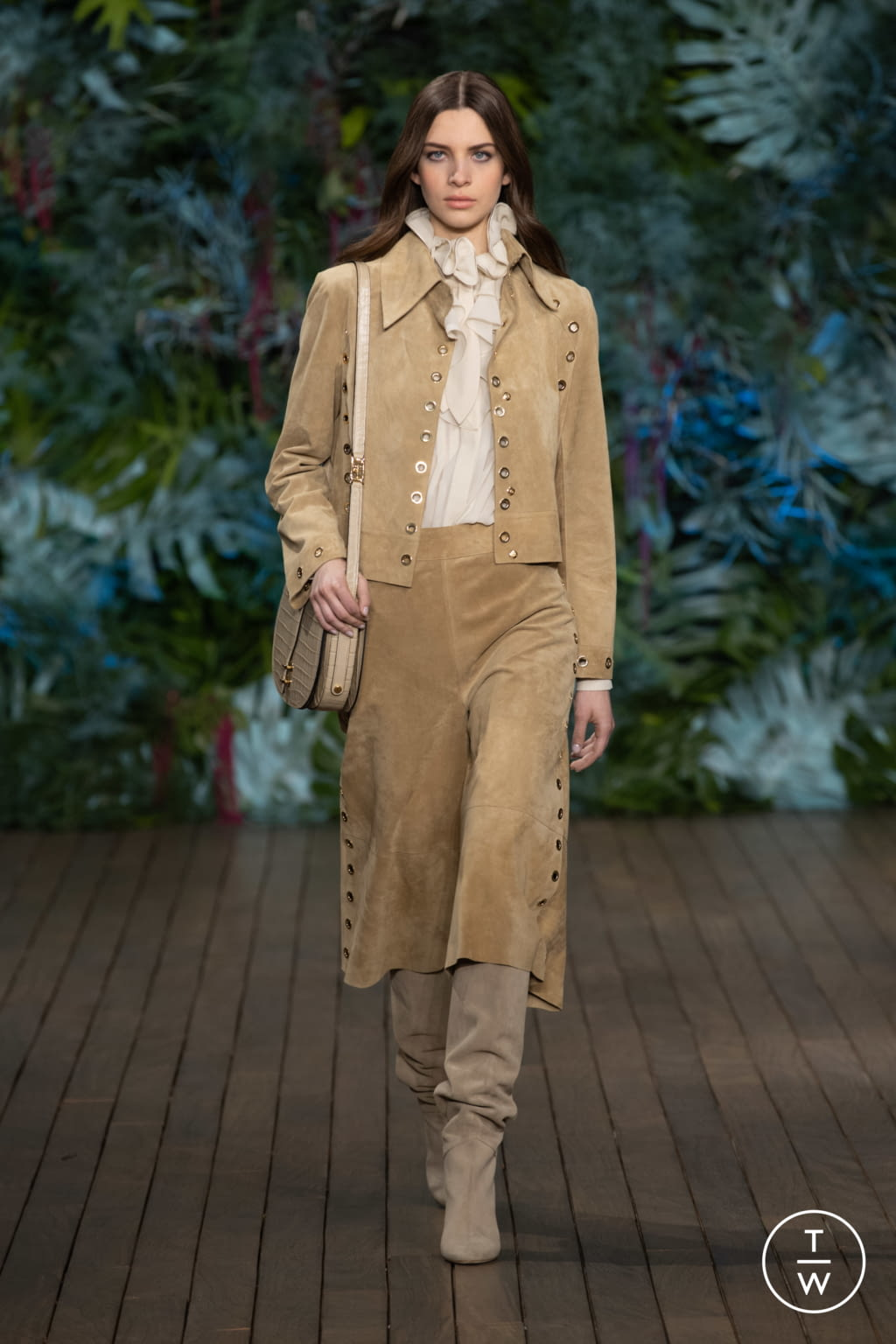 Fashion Week Milan Resort 2020 look 6 from the Alberta Ferretti collection womenswear