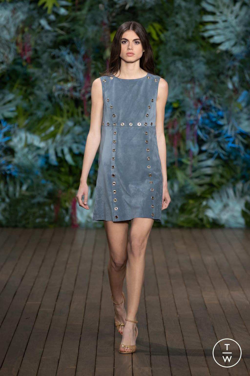 Fashion Week Milan Resort 2020 look 10 from the Alberta Ferretti collection womenswear