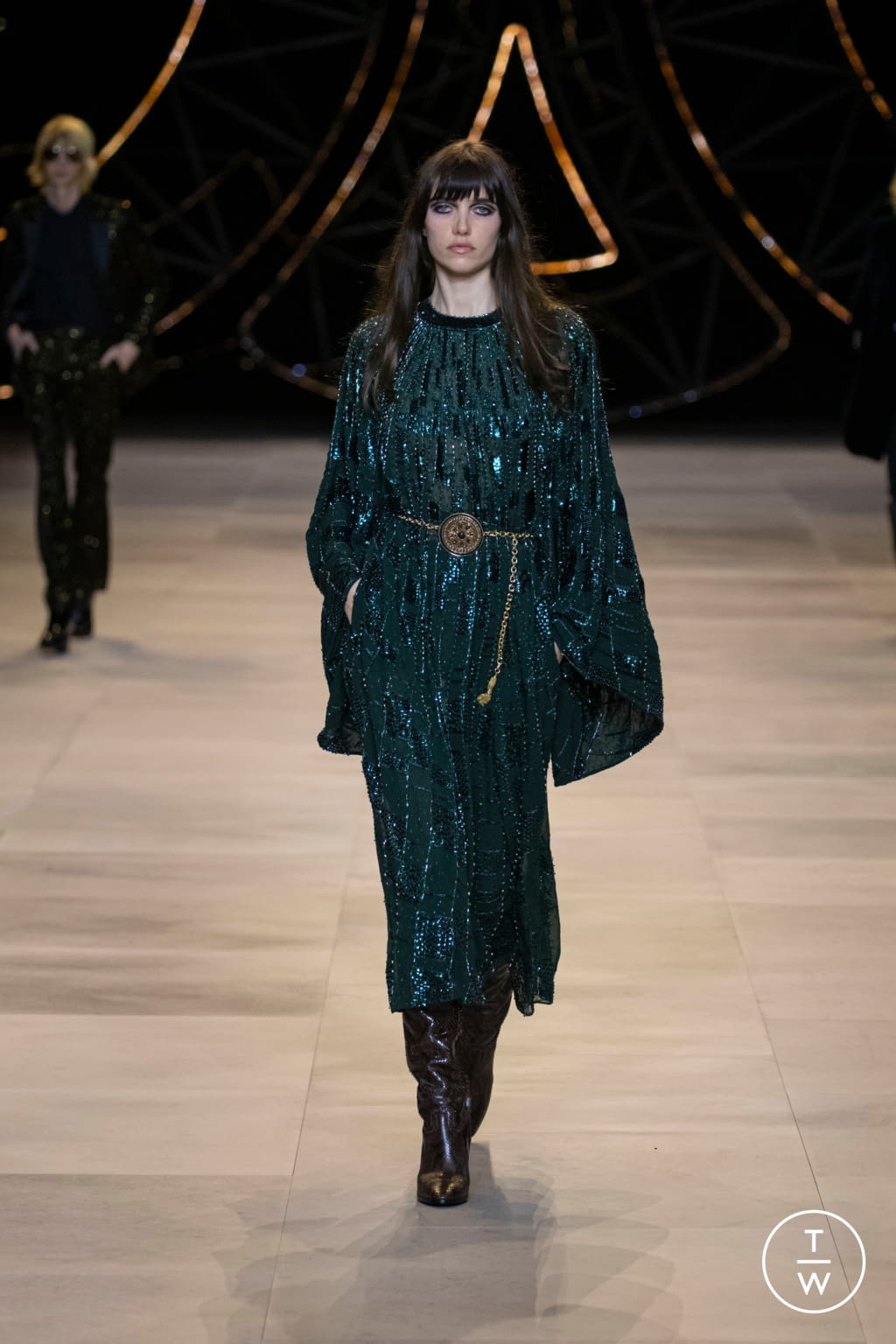 Fashion Week Paris Fall/Winter 2020 look 101 from the Celine collection womenswear
