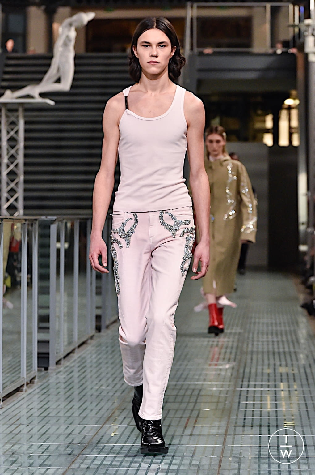 Fashion Week Paris Fall/Winter 2020 look 11 from the Alyx collection menswear