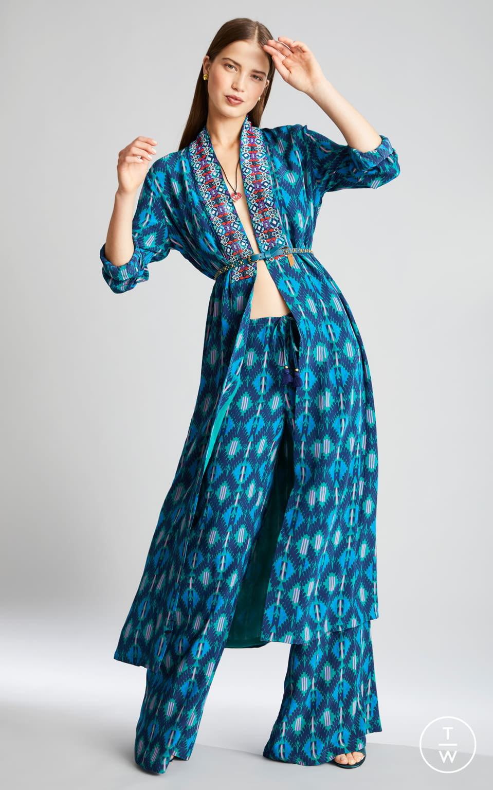 Fashion Week New York Pre-Fall 2019 look 8 from the Figue collection womenswear