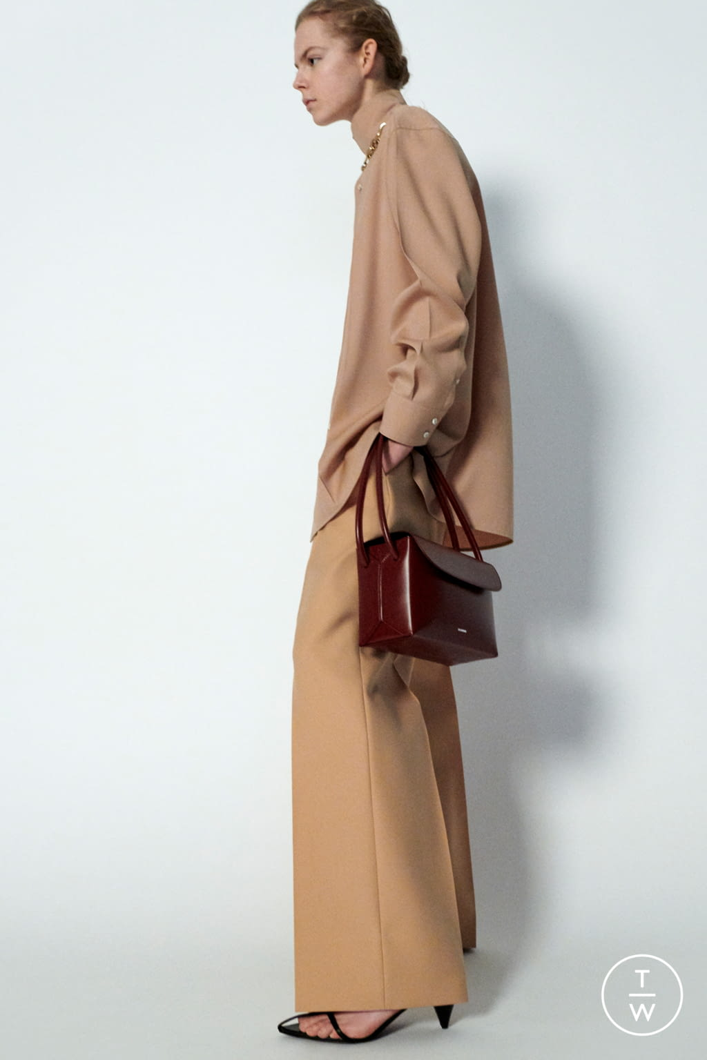 Fashion Week Milan Pre-Fall 2020 look 13 from the Jil Sander collection 女装