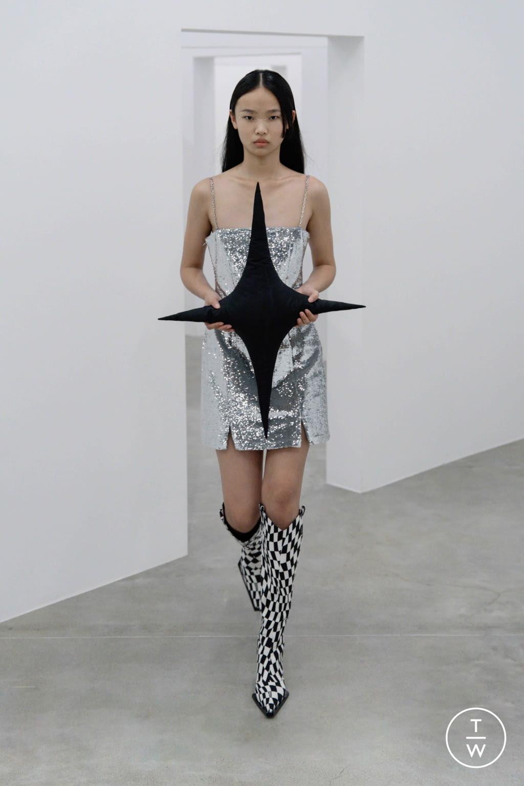 Fashion Week Milan Spring/Summer 2022 look 13 from the Annakiki collection womenswear
