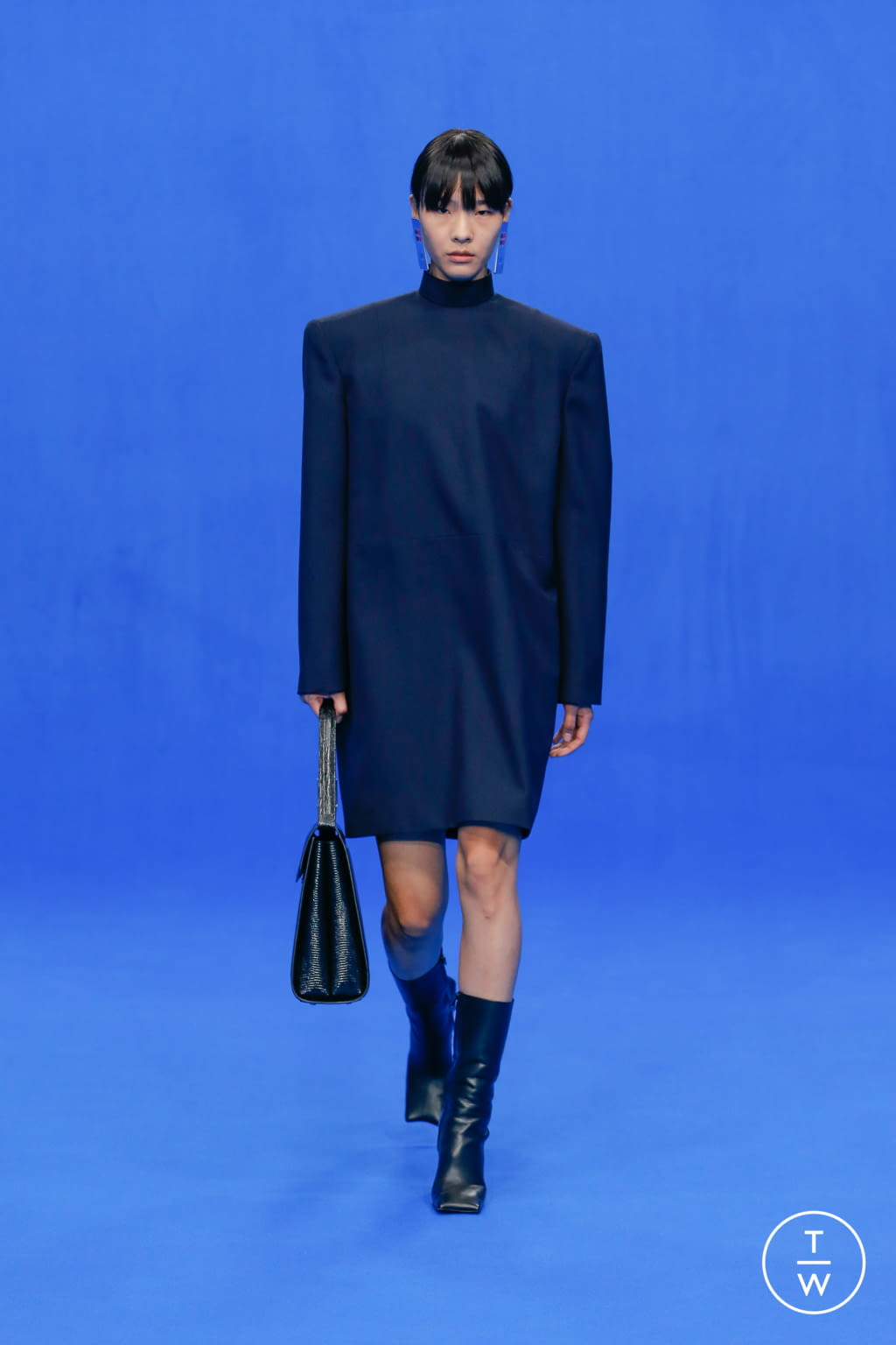 Fashion Week Paris Spring/Summer 2020 look 13 de la collection Balenciaga womenswear
