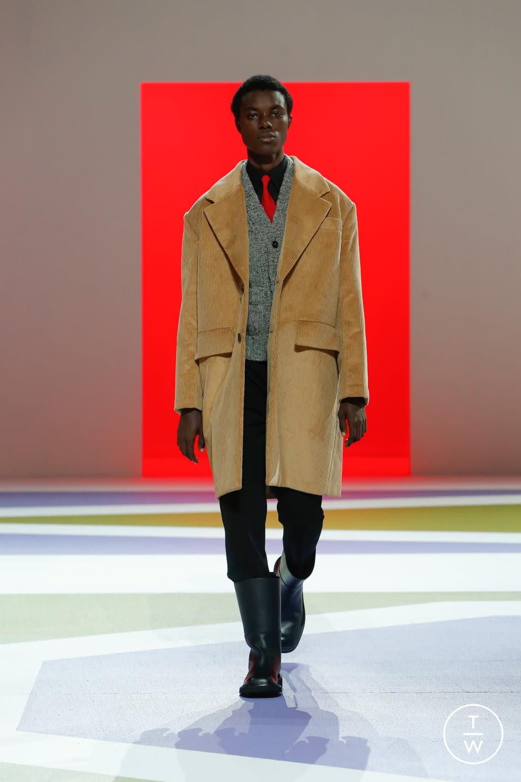 Fashion Week Milan Fall/Winter 2020 look 13 from the Prada collection menswear