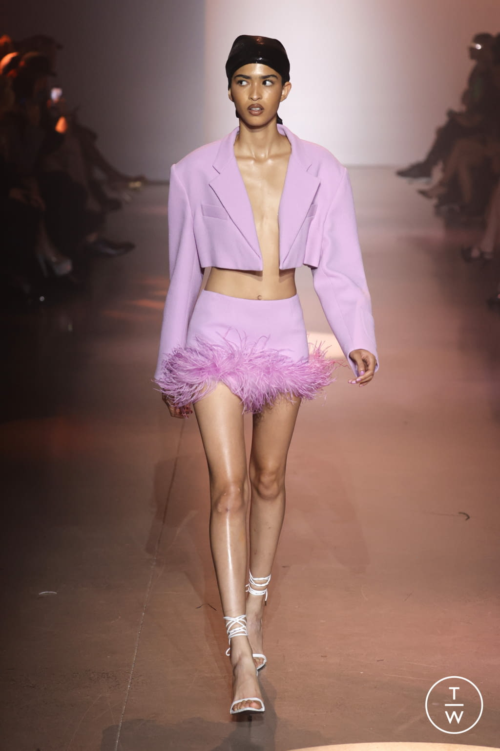 Fashion Week New York Spring/Summer 2022 look 12 from the Christian Cowan collection womenswear