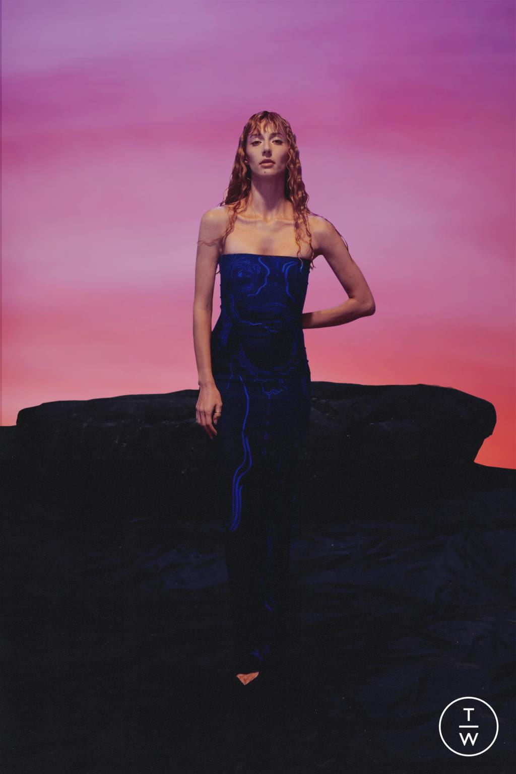 Fashion Week Paris Spring/Summer 2022 look 14 from the Di Petsa collection womenswear