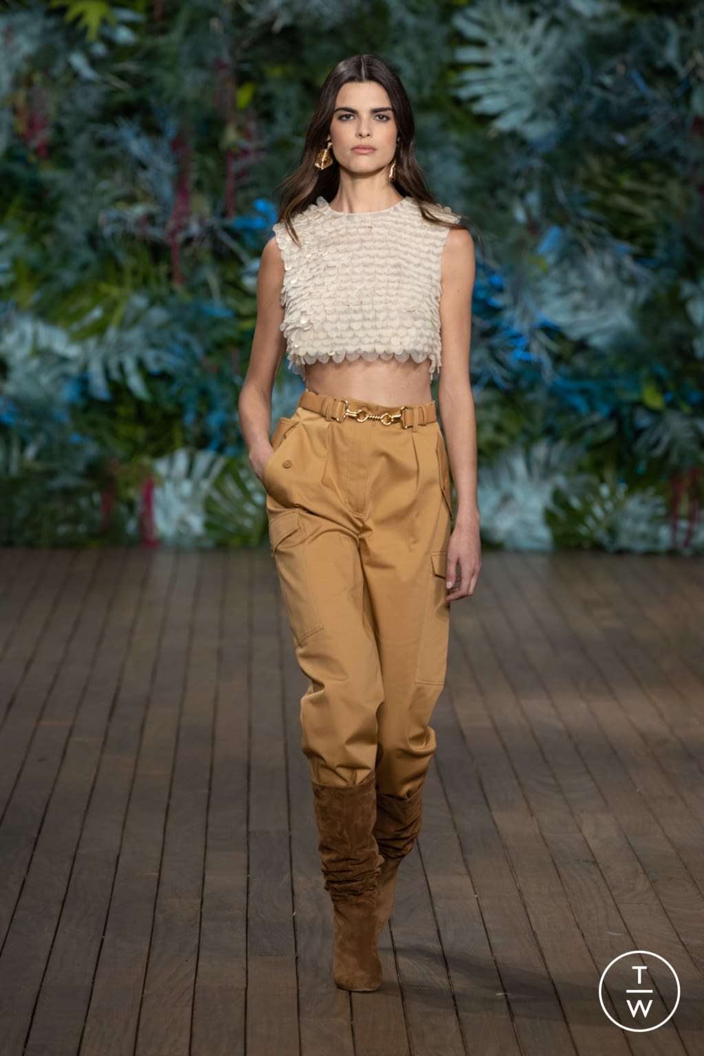 Fashion Week Milan Resort 2020 look 15 from the Alberta Ferretti collection womenswear