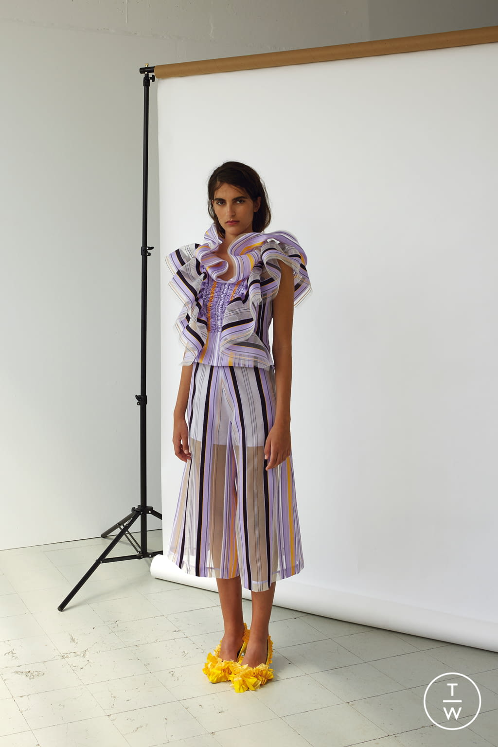 Fashion Week Paris Spring/Summer 2018 look 5 from the Patricia Padrón collection womenswear