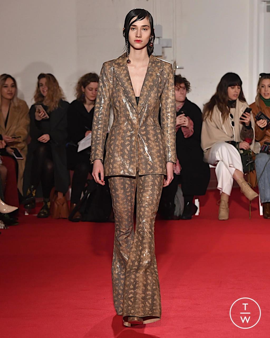 Fashion Week London Fall/Winter 2020 look 4 from the 16 Arlington collection womenswear
