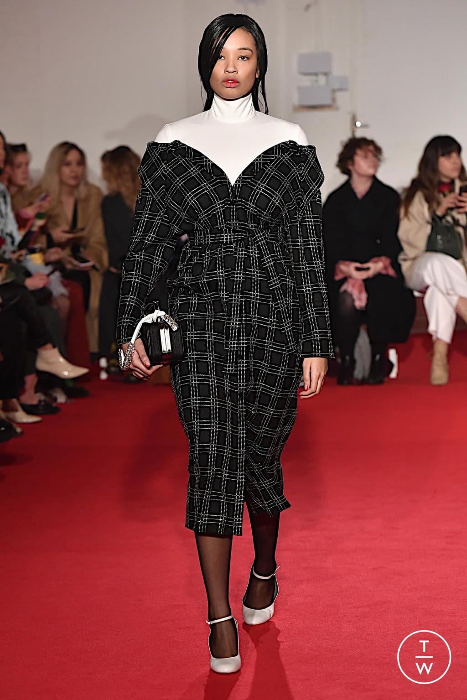 Fashion Week London Fall/Winter 2020 look 25 from the 16 Arlington collection womenswear