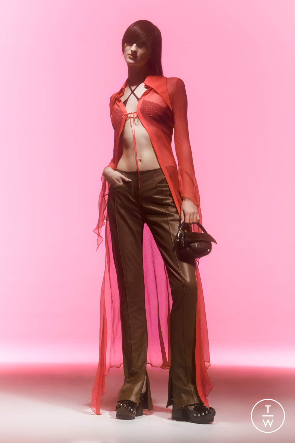Fashion Week London Spring/Summer 2022 look 4 from the 16 Arlington collection womenswear
