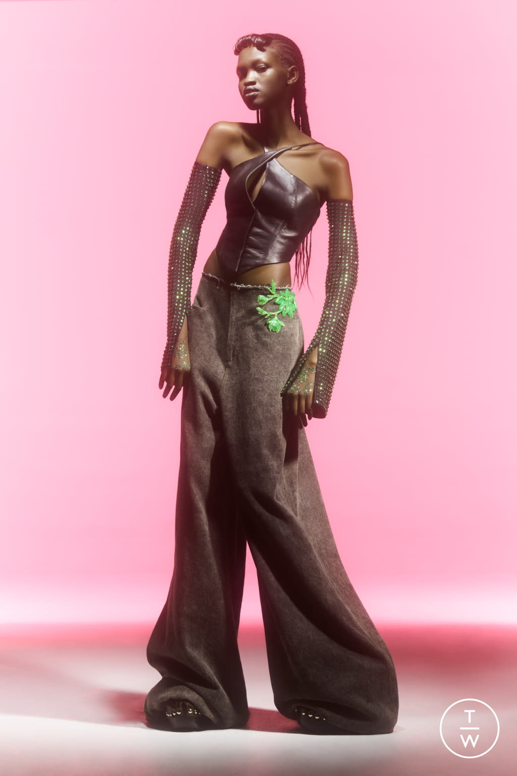 Fashion Week London Spring/Summer 2022 look 17 from the 16 Arlington collection womenswear